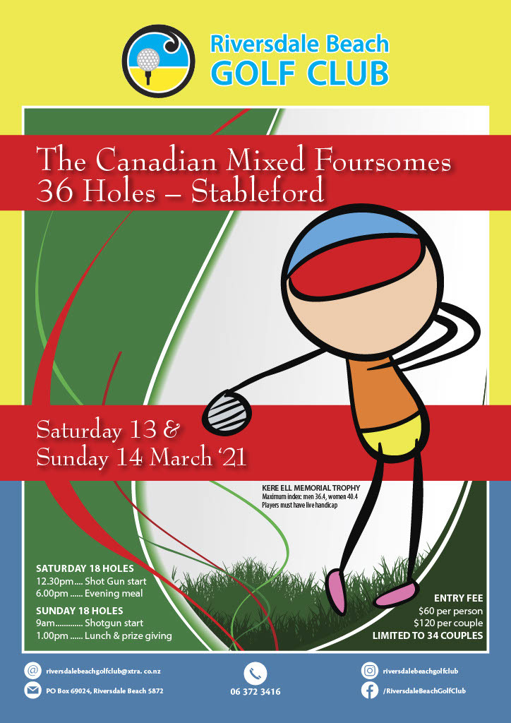 Mixed Canadian Foursomes
